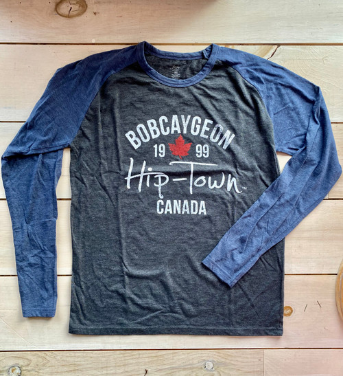 HIP-TOWN MENS BASEBALL SLUB TEE