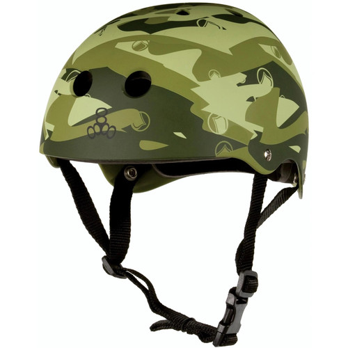 LIQUID FORCE FLASH WAKE HELMET CAMO GREEN