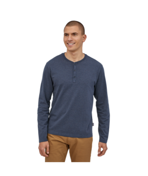 PATAGONIA M's LONGSLEEVE ORGANIC COTTON LIGHTWEIGHT HENLEY PULLOVER