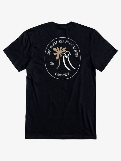 QUIKSILVER PACIFIC BLISS TEE