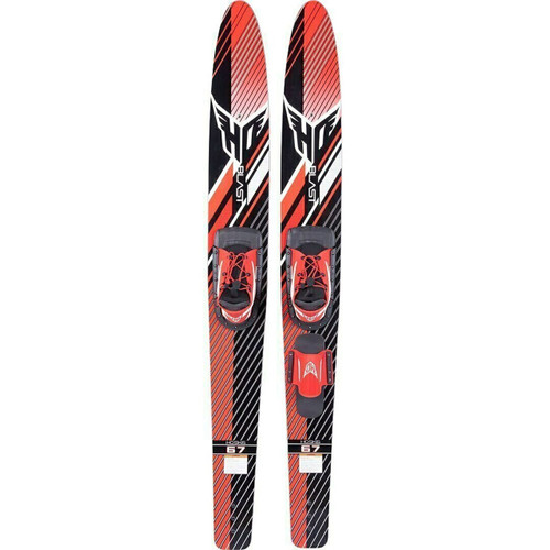 """H.O. BLAST COMBO WATER SKIS 67"""" WITH BLAZE BOOTS (2021)"""
