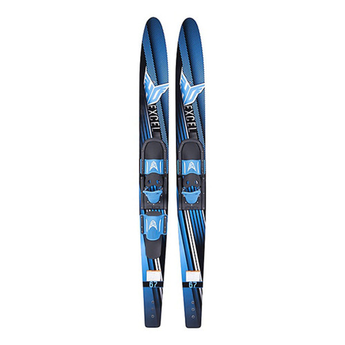 """H.O. EXCEL COMBO WATER SKIS 63"""" WITH HS BOOTS (2021)"""