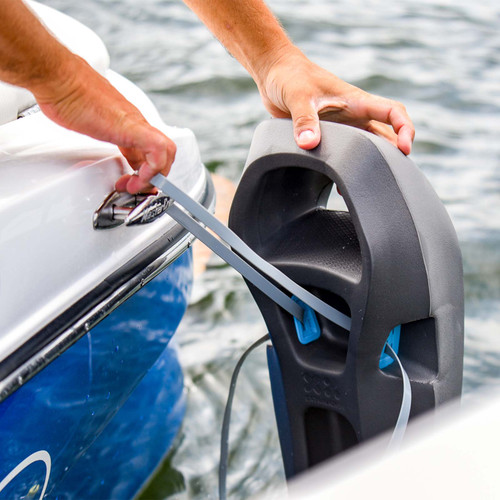MISSION SENTRY BOAT FENDERS - ALMOST BLACK