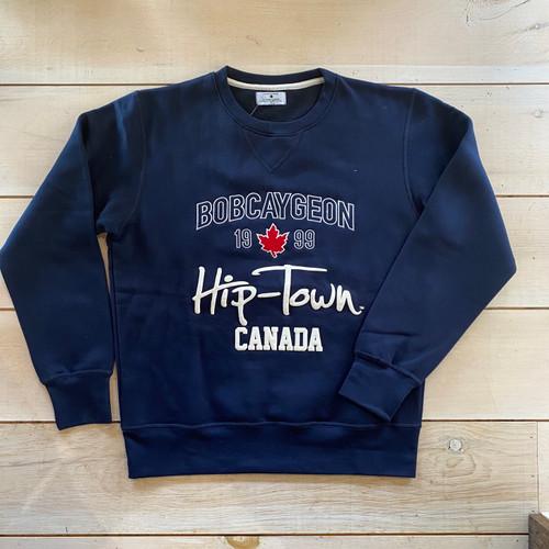 HIP-TOWN CREW NECK SWEATSHIRT