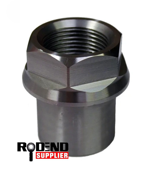 """2"""" OD Hex Tube Insert Right Hand (Bung) for 1.25""""- 12 TPI Heim Joint Rod End"""