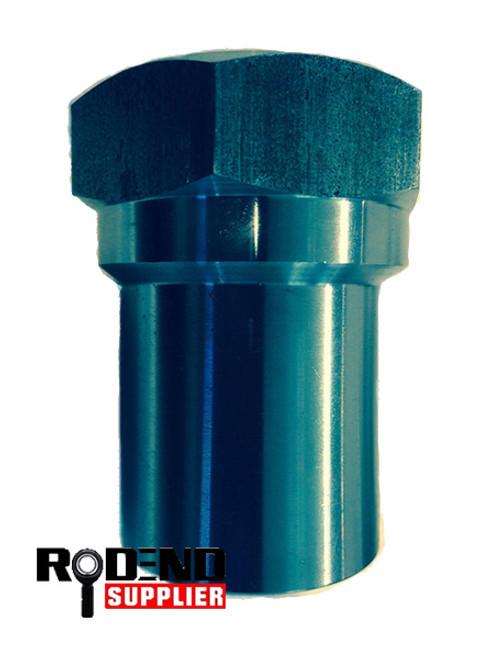 """1.5"""" OD Hex Tube Insert Left Hand (Bung) for 1.25""""-12 TPI Heim Joint Rod End"""