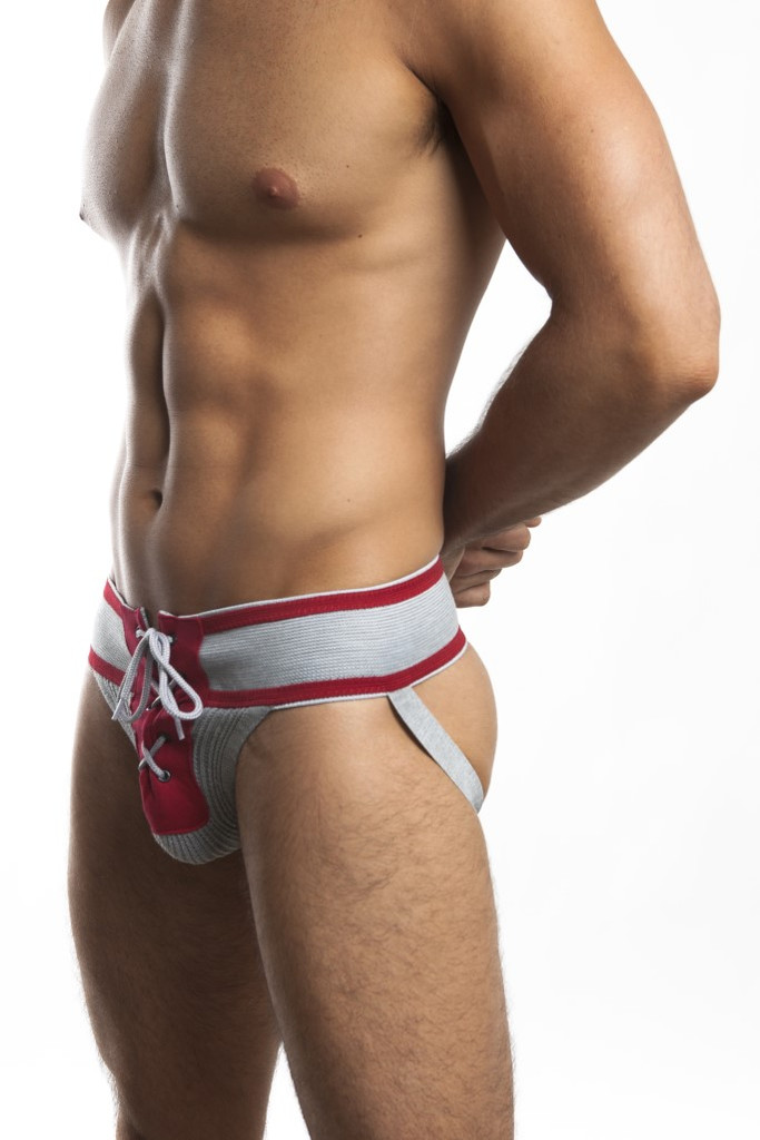 Jack Adams Footballer Lace Up Jockstrap