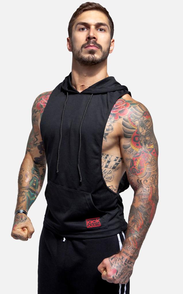 Jack Adams Air Muscle Pullover Hoodie - Black