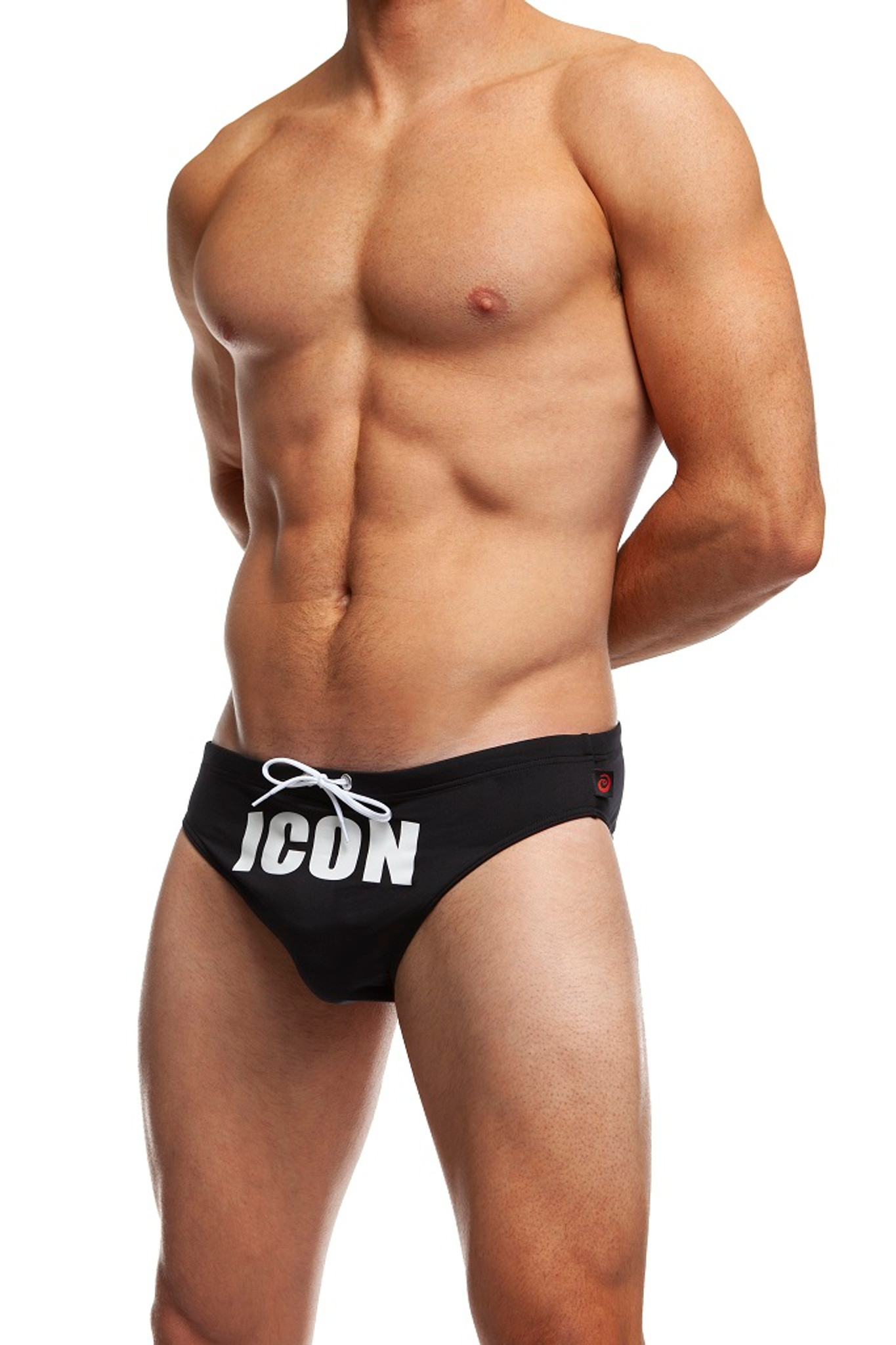 "Jack Adams Racer Icon 1"" Swim Brief"
