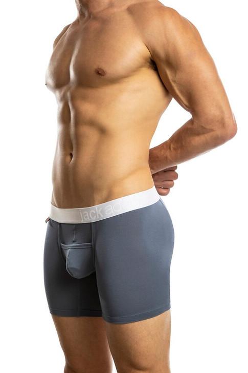 Jack Adams Air Army Boxer Brief in vintage blue - sexy, premium men's underwear