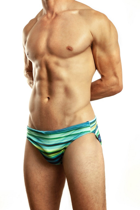 Jack Adams Blue Vibe Swim Brief