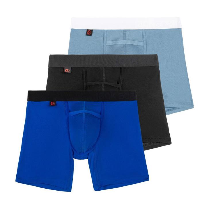 Jack Adams Naked Fit Boxer Brief Weekend Kit