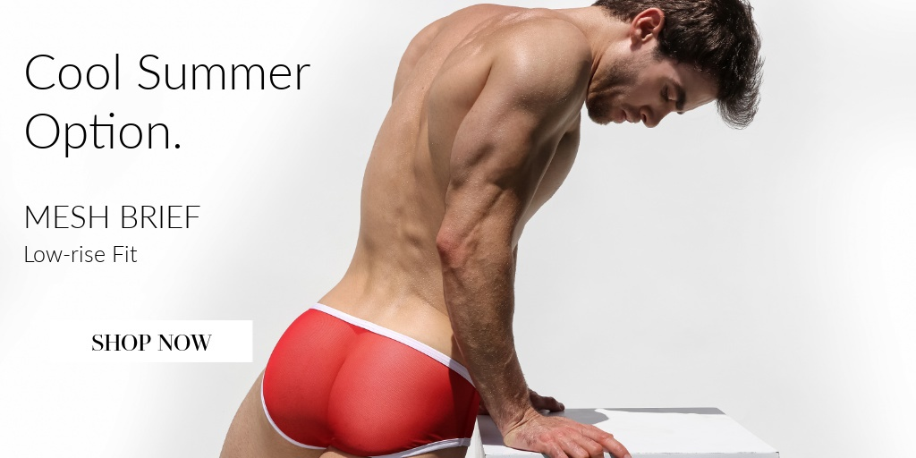 Cool Summer Option. Mesh Brief. Low Rise Fit. Shop Now.