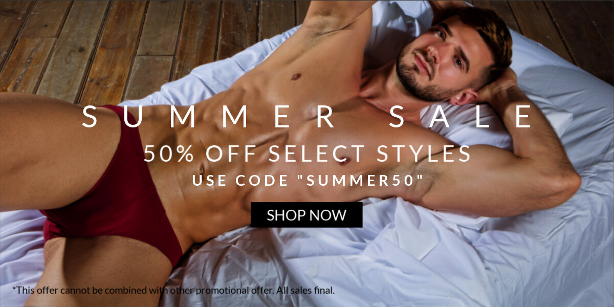 """SUMMER SALE. 50% OFF SELECT STYLES. USE CODE """"SUMMER50"""" SHOP NOW"""