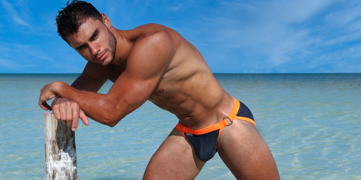 Our new Kaimana Swim Brief is hot, sexy and comes in four fabulous colors.