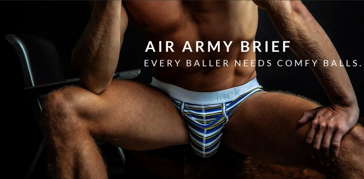 Air Army Brief. Every baller needs comfy balls.