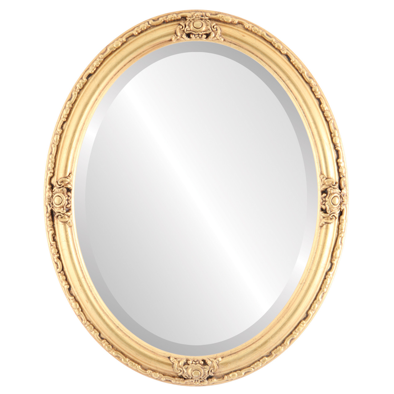 Gold Oval Mirrors From 164 Jefferson Gold Leaf Free Shipping