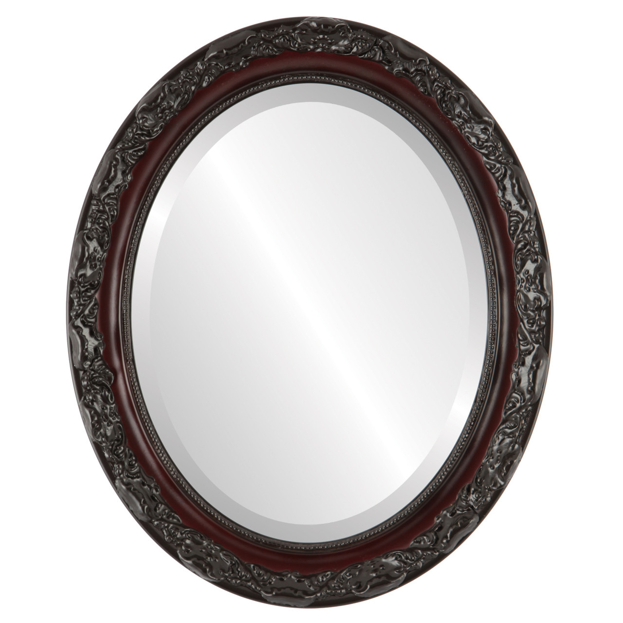 Cherry Oval Mirrors From 146 Rome Rosewood Free Shipping