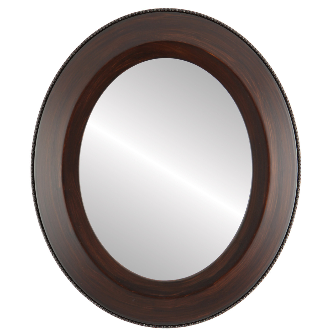 Brown Oval Mirrors From 119 Lombardia Mocha Free Shipping