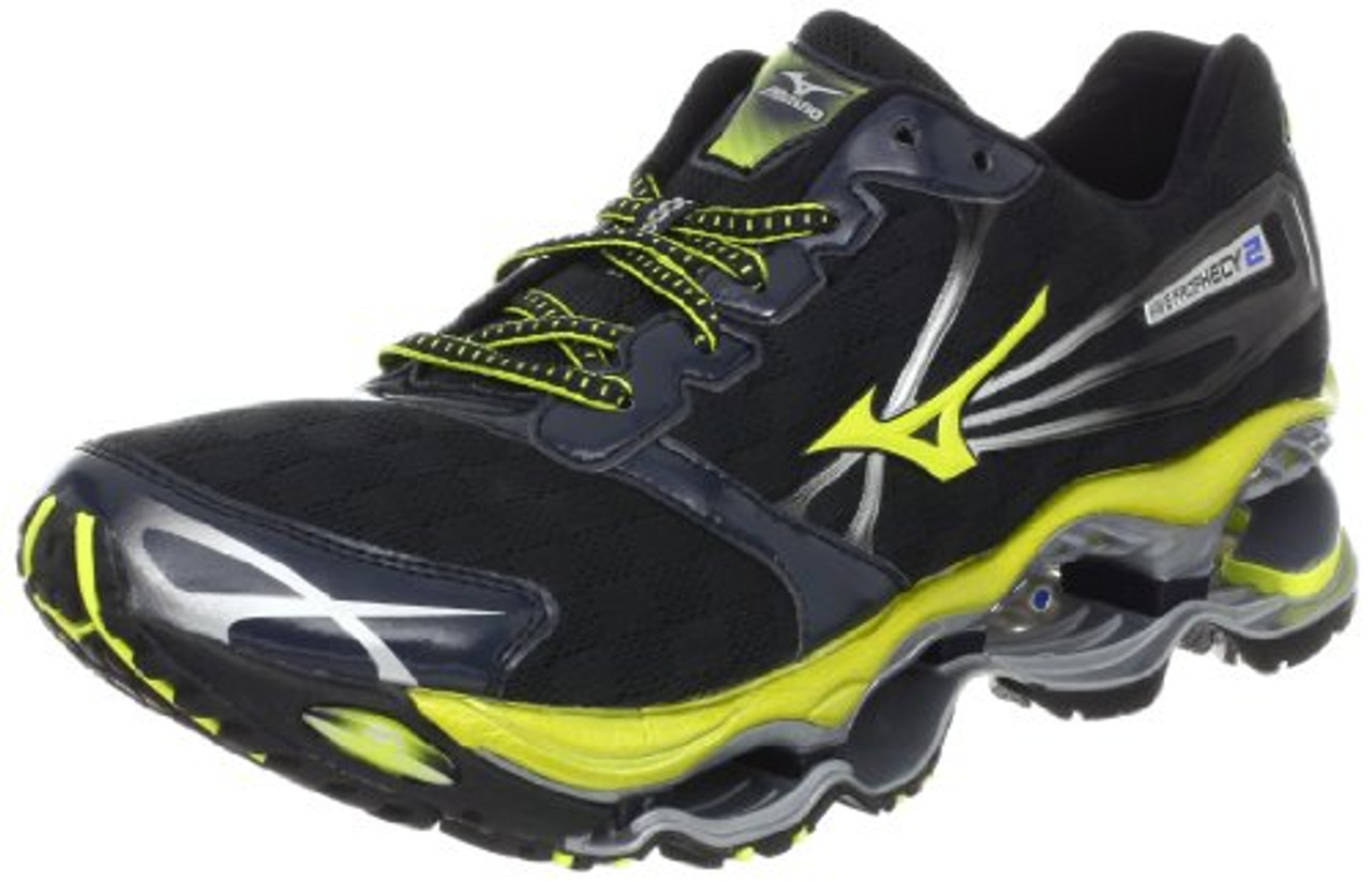competitive price e3172 fb5f4 Mizuno Men's Wave Prophecy 2 Running Shoe,Anthracite,9 D US