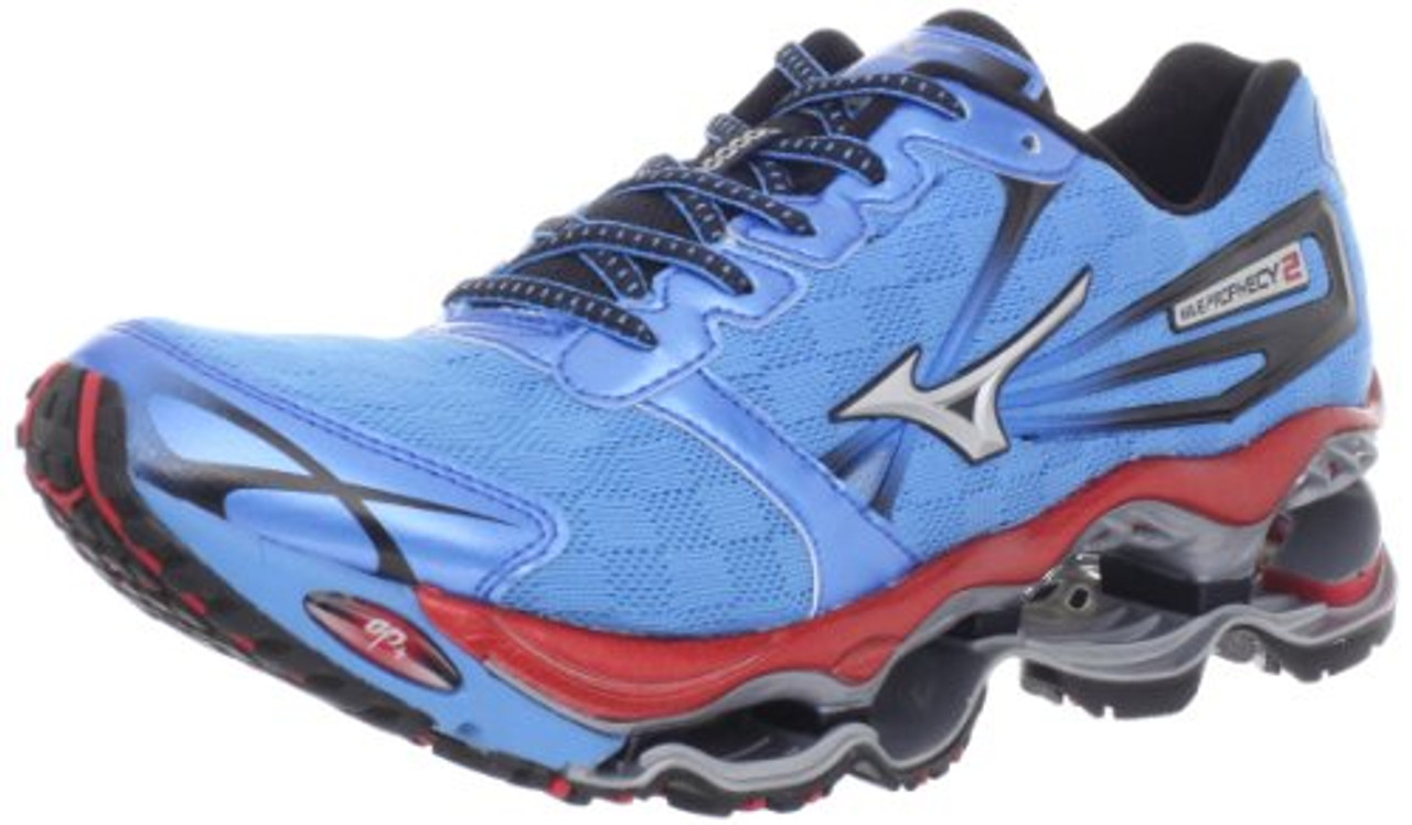 new styles 94813 17193 Mizuno Men's Wave Prophecy 2 Running Shoe,Malibu Blue,12.5 D US [Shoes]