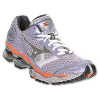 best website 7616d 7ccad Mizuno Women s Wave Creation 13 Running Shoes, Thistle Silver Nasturtium,  8.5 M US