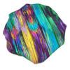 Color Streak Satin Bonnet