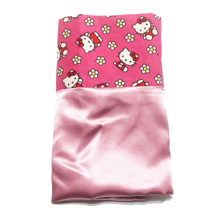 Hello Kitty Satin Pillowcase