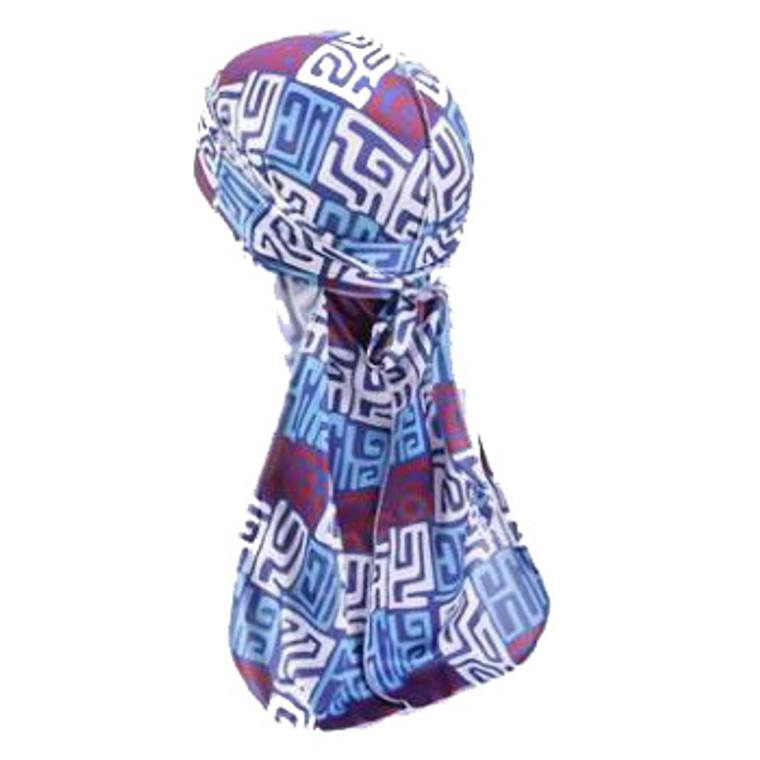 Blue Maze Durag