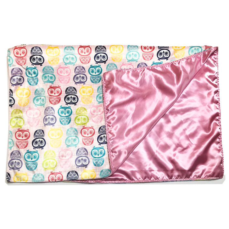 Who Me? Satin Backed Baby Blanket