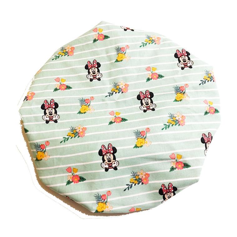 Minnie Bouquet Satin Bonnet