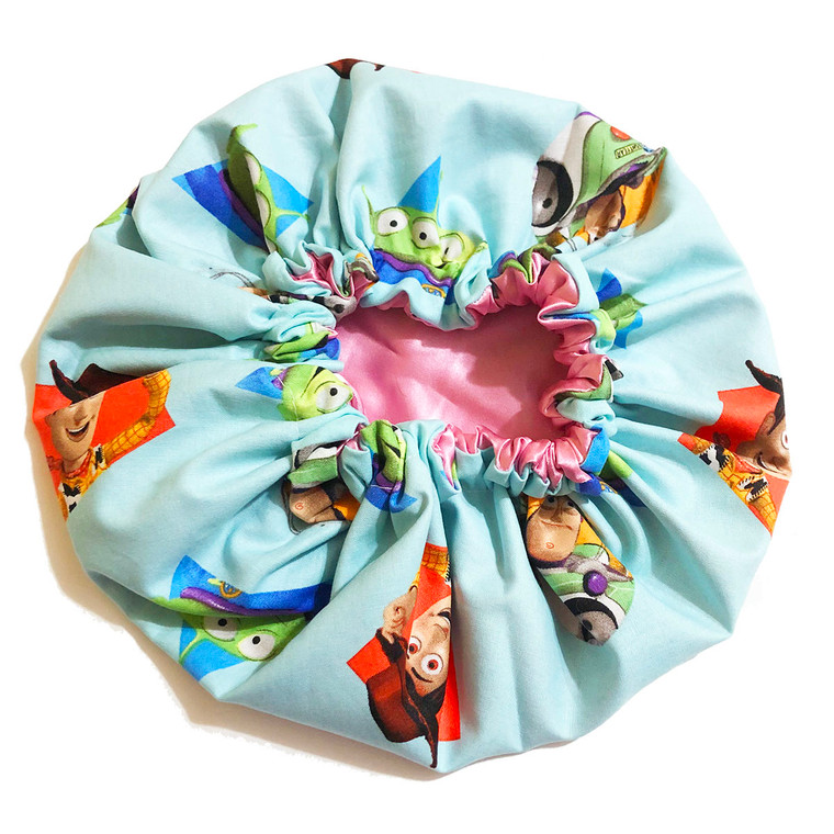 To Infinity Toy Story Satin Bonnet