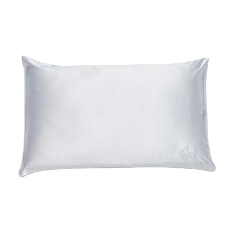 Snow White Silk Satin Pillowcase