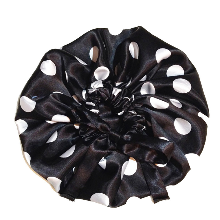 Oreo Cookie Reversible Satin Bonnet