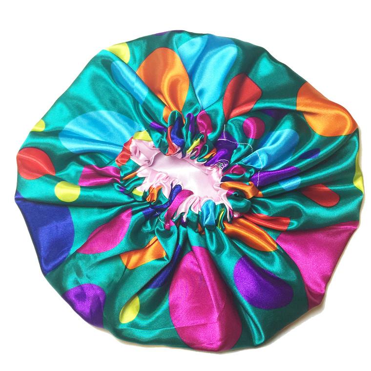 Inside Out Reversible Satin Bonnet