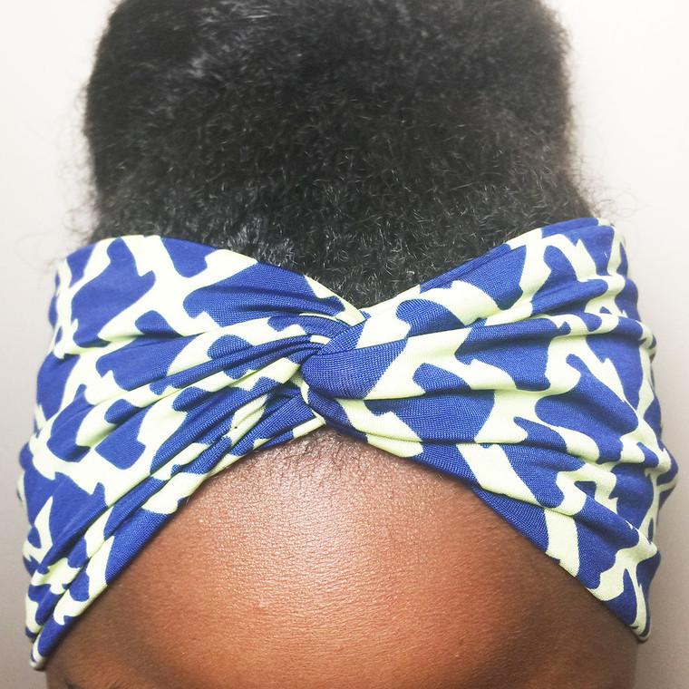 Sonic Boom Turban Headband