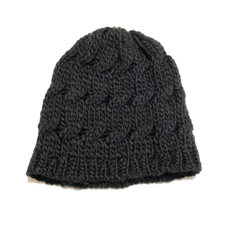 Infant/Toddler Knit Hat - Black