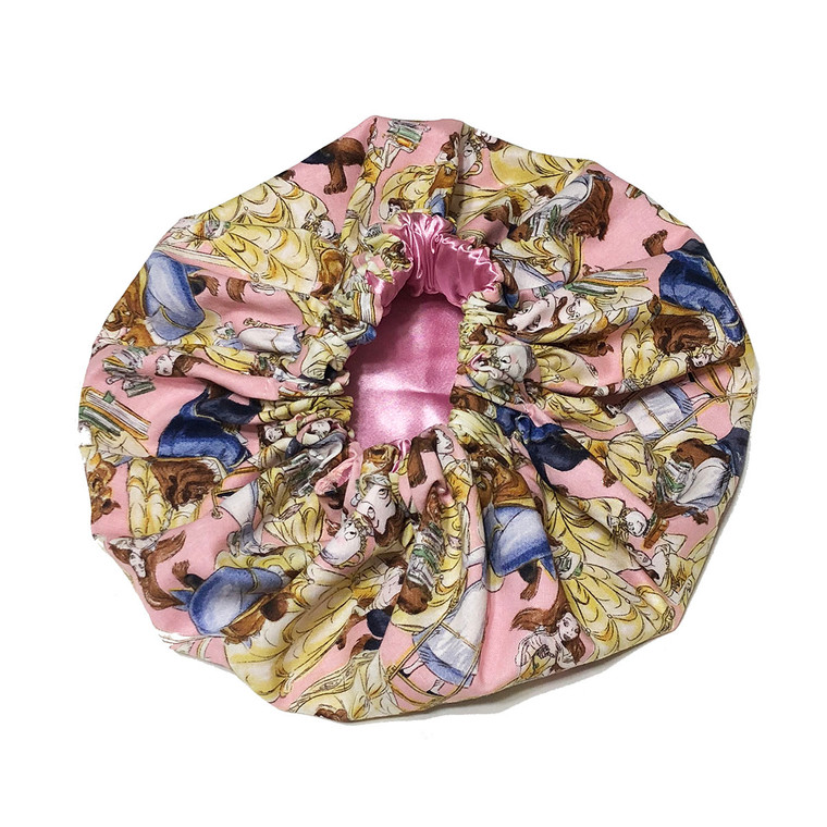 Beauty and the Beast Satin Bonnet