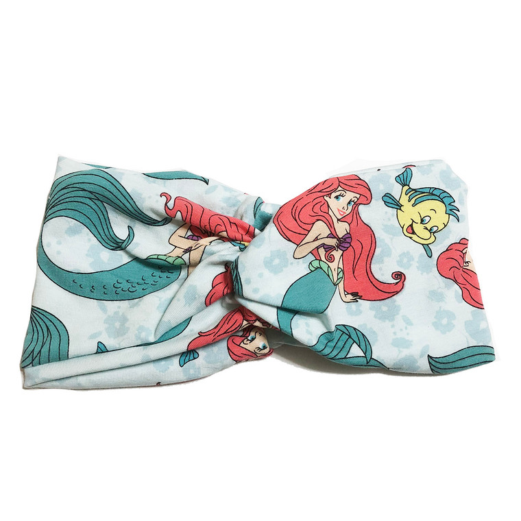 Under the Sea Little Mermaid Turban Headband
