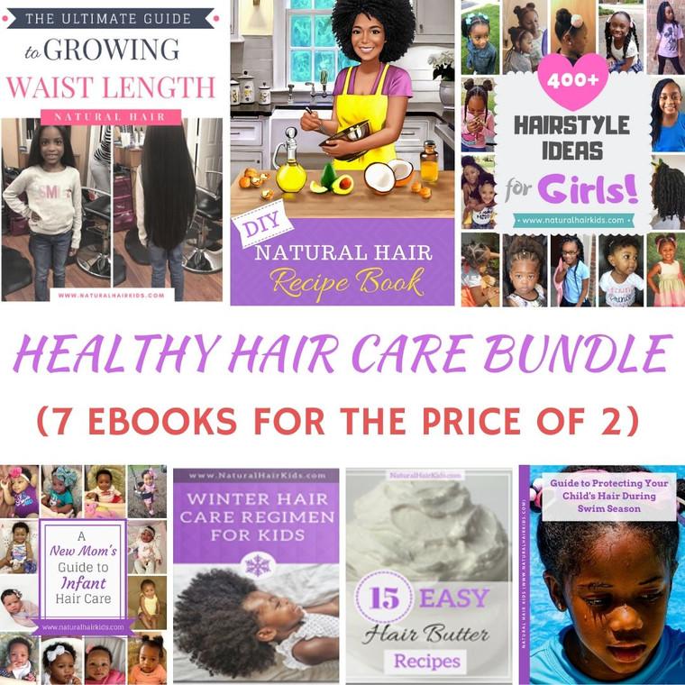 Ultimate Natural Hair Care eBook Bundle
