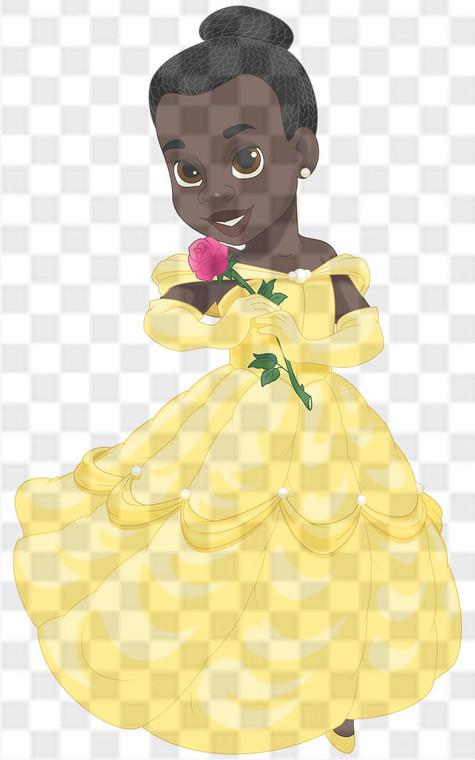 Princess Belle Downloadable .png File