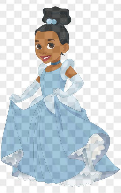 Princess Cinderella Downloadable .png File