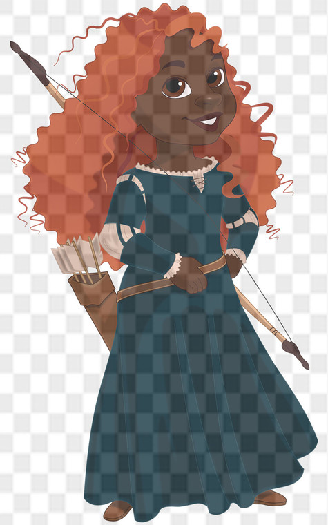 Princess Merida Downloadable .png File