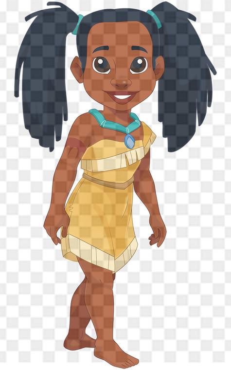 Princess Pocahontas Downloadable .png File
