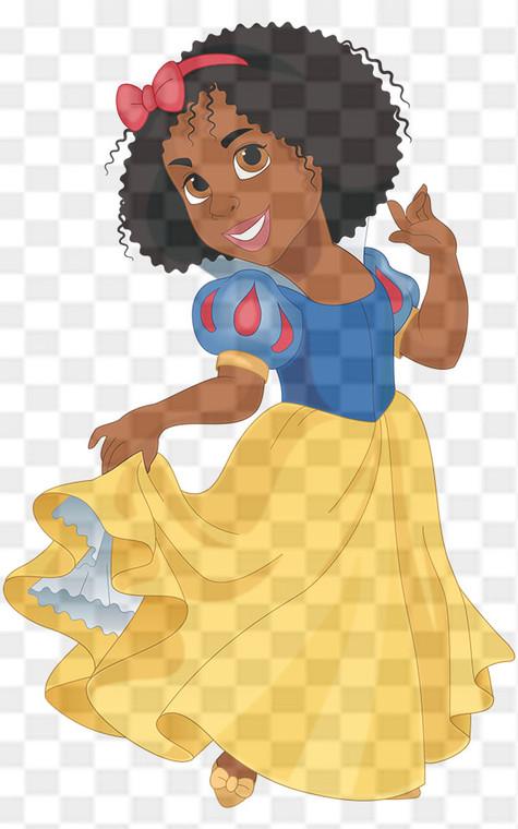 Princess Snow White Downloadable .png File