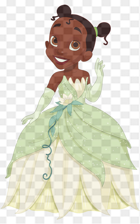 Princess Tiana Downloadable .png File