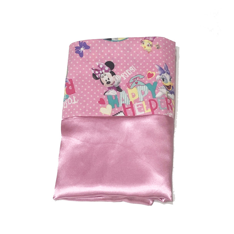 Minnie Mouse Happy Helpers Satin Pillowcase