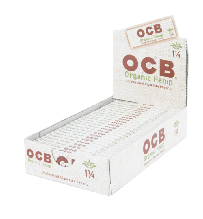 OCB pure organic hemp paper, dedicated to people looking for a 100% natural experience.