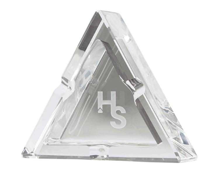 Higher Standards Premium Crystal Ashtray