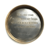 Engraved Compass - Walt Whitman